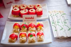 Kid party sushi