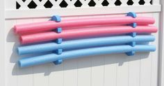 Pool Noodle Stoarge Rack swimming pools, pool noodles, noodl stoarg