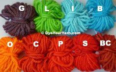 How to dye yarn using Kool Aid