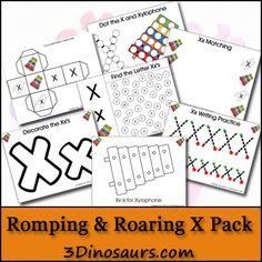 Free Romping  Roaring X Pack - 3Dinosaurs.com