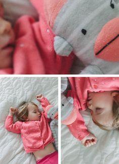 Adorable sleepy portraits