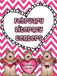 Fun February Literacy Centers!