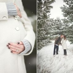 Winter Maternity photo ideas
