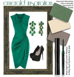Pantone's 2013 #ColoroftheYear is emerald, and we can't think of a better way to show off the color than with an emerald smoky eye! You can get the look with Mary Kay® Mineral Eye Color in Emerald, Moonstone, and Granite, Mary Kay® Eyeliner in Rich Jade, and Mary Kay® Lash Love® Mascara!