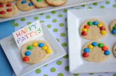 Rainbow Cookies♥