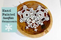 DIY Snowflake Orname