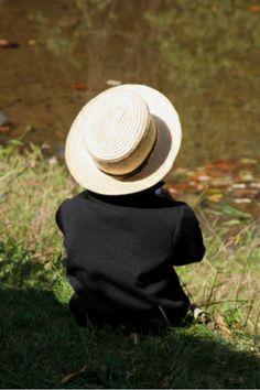 Amish boy...