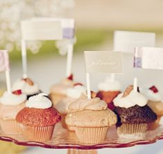 cupcake flag xo