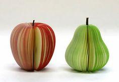 Fruit sticky notes