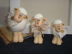 porcelana fria, ovelhinha countri, polym clay