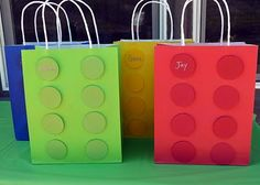 Lego Party Bags