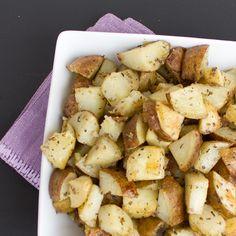 Lemon Roasted Potatoes - Greek Style
