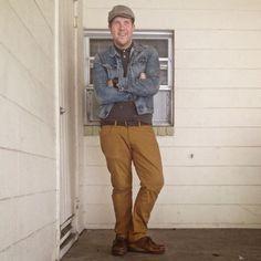 mannswear: six ninety nine: walla-bee yourself   #WorkItWednesday #Clarks #Wallabees Available on www.TheShoeMart.com
