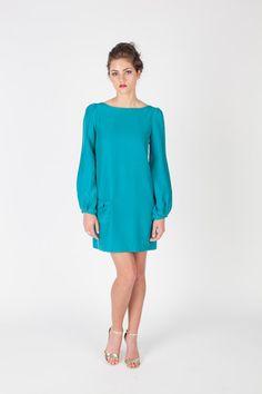 Meg Bell Sleeve Emerald