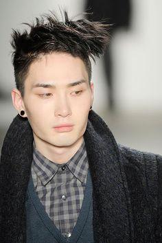 male asian, asian models, asian guy, asian wave, model face, uniqu model, earring, boy, korean model