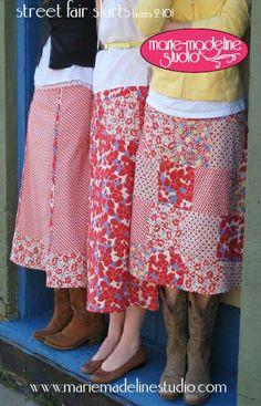 Cute skirt patterns