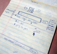 Los bocetos preliminares de Twitter. La imagen de la semana  http://www.genbeta.com/p/103703