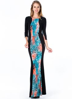 Scaled To Fit Hourglass Mermaid Maxi