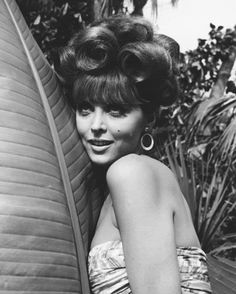 Tina Louise, you know... Ginger from Gilligan's Island!