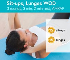 Sit-Ups/Lunges #WOD #CrossFitGames