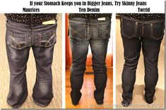 Plus-Size jeans buying guide (finally!) - a must read!! I learned so much.