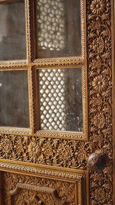 Doorways ... Intricate woodwork,  THIS IS AMAZING