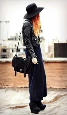 Lua of Le Happy in our Saltwater Gypsy Vintage Velvet Maxi Dress