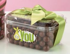 For You Treat Box by @Anabelle O'Malley treat box, decor box