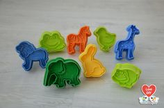 8 Piece Stamp Cookie Cutter Set The Zoo by LoveDIY.ca on Etsy, $14.99