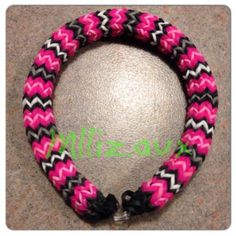 Rainbow Loom Hexafish 6 Pin Fishtail Bracelet