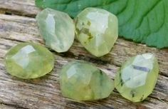 Prehnite is a stone of unconditional love. The crystal that heals the healer.Seals the auric field in a protective shield. Great for visualization, inspiration & flow.  Teaches how to be in harmony with nature. Great crystal for Feng Shui, as it helps with de-cluttering. Aids meditation & brings calm. Helps agitation, dream recall, hyperactive children, nightmares, phobias, fears, kidneys, bladder, thymus gland, shoulders, chest, lungs, gout, blood disorders, connective tissue & malignancy