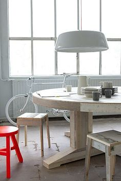 DIY looking table