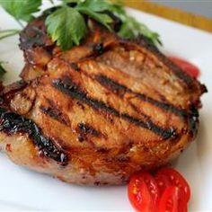 Summer Grilled Pork Chops Allrecipes.com
