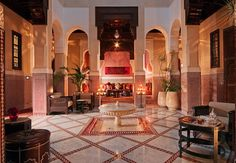 middleastern style, interior design, inspiration boards, royal mansour, mansour hotel