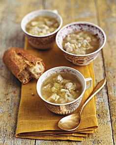 Using Thanksgiving Leftovers : Turkey and Rice Soup