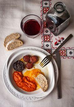 Receta 463: Huevos al plato a la flamenca » 1080 Fotos de cocina