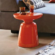 Martini Side Table - Persimmon | west elm