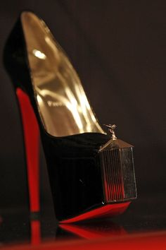new exhibit at the Design Museum in London dedicated to avant garde shoe designer, Christian Louboutin