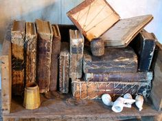 earli book, primit, friends, offices, distress book, tatter book, offic deco, leather book, old books