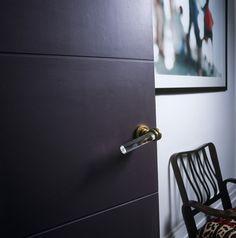 Lucite door handle