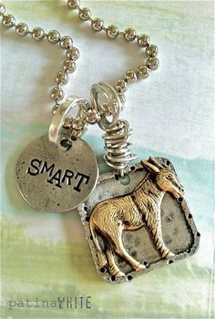 Artist & Jewelry Designer: Patina White ~ This necklace is perfect for me!