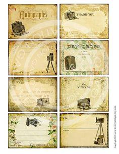 digi collage sheet
