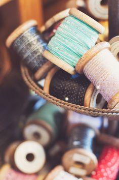 wood spool, wooden spools, sew machin