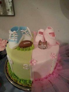 Gender revealed cake