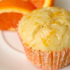 Orange Muffins with Orange Glaze
