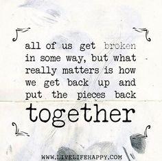 All Of Us Get Broken