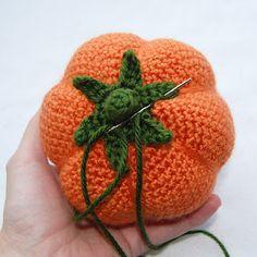 Tutorial Pumpkin Crochet