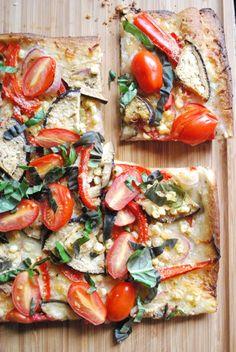 farmer's market veggie pizza