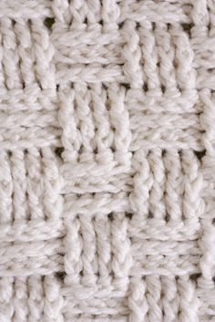 Basket Weave Crochet Baby Blanket -Pattern and link to YouTube video