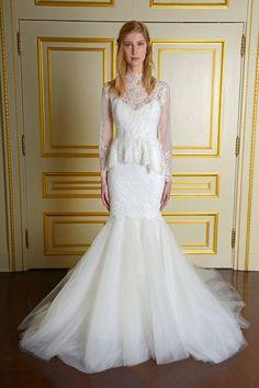 Bridal Week 2015 - Wedding Dresses At Bridal Fashion Week - Elle